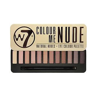 W7 In The Nude Eyeshadow Palette 15.6g