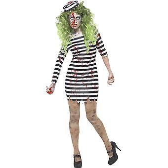 Zombie fengsel fugl kostyme