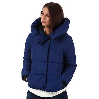Womens Only Mari Padded Jacket In Blueprint
