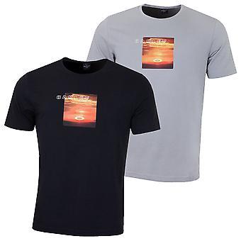 Oakley mens 2019 Sunset Print Tee camiseta