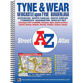 Tyne & Wear Street Atlas (5th Revised edition) by Geographers A-Z Map
