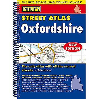 Philip es Street Atlas Oxfordshire 5ED Spiral (New Edition)-97818490