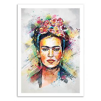Konst-affisch-Frida Kahlo-Tracie Andrews 50 x 70 cm