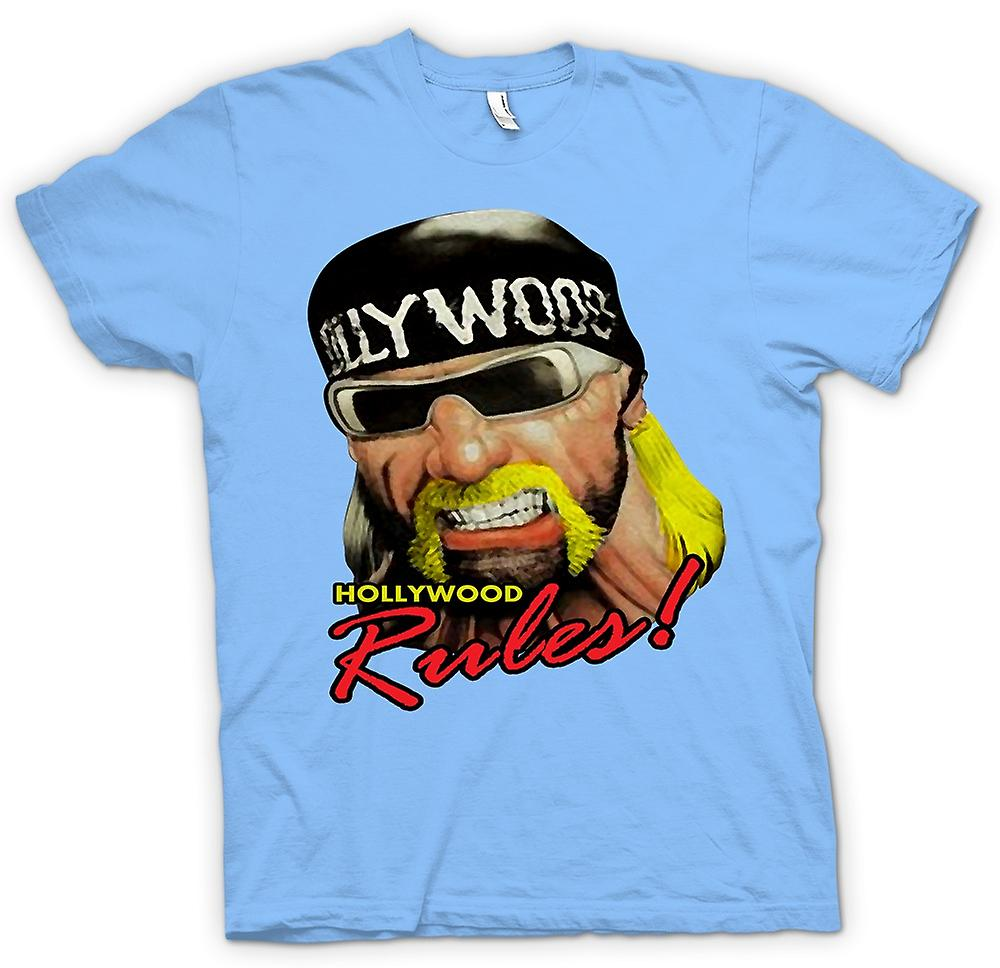 Heren T-shirt - Hulk Hogan - Hollywood regels