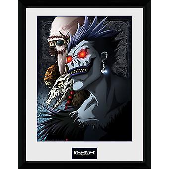 Death Note Shinigami Framed Collector Print 40x30cm