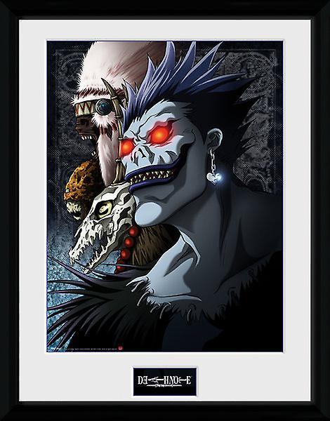 Death Note Shinigami ingelijst Collector Print 40x30cm