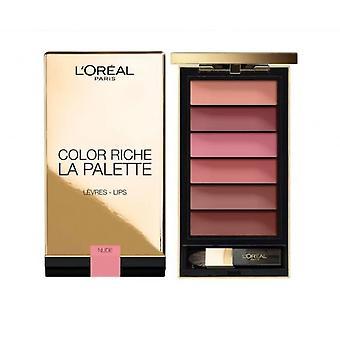 L'Oreal Color Riche la palett leppe palett-naken