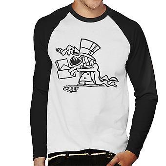 Grimmy Magician Men's Baseball Long Sleeved T-Shirt