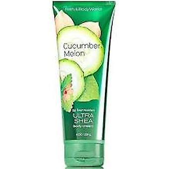 Bath & Body Works Cucumber Melon Ultra Shea Body Cream 8 oz / 236 ml