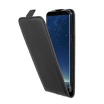 Cadorabo tapa uksessa Samsung Galaxy S8 PLUS kotelon kansi-puhelimen kotelo Flip Design kuvioitu Faux nahka-kotelo suoja kotelo tapa uksessa tapa uksessa kirja taitto tyyli