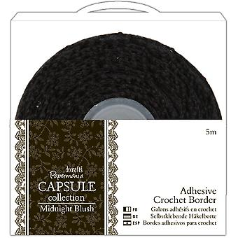 Papermania Midnight Blush Adhesive Crochet Border .5