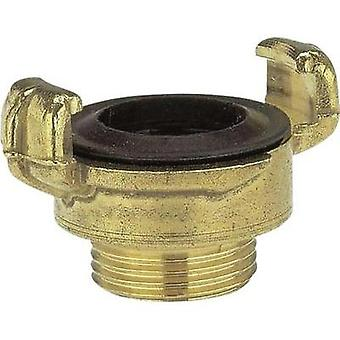 Brass Lock claw coupling - threaded piece Jaw coupler, 41.91 mm (1 1/4) OT