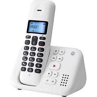 Cordless analogue Motorola T311 White