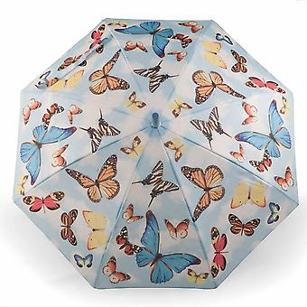 Umbrella for children motif butterflies