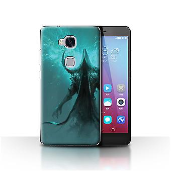 Officielle Chris Cold Case/Cover for Huawei Honor 5 X/GR5/indhyllet Djævelen/mørke kunst dæmon
