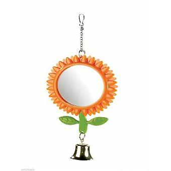 Classic For Pets Sun Flower Mirror 125mm (Birds , Bird Cage Accessories , Mirrors)