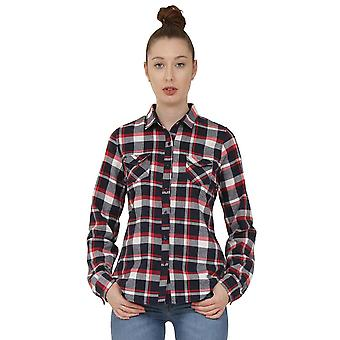 Tartan Check Shirt - Blue & Red