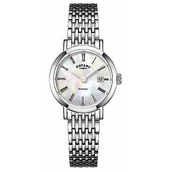 Rotary Womans Mother Of Pearl LB05300/07 Watch