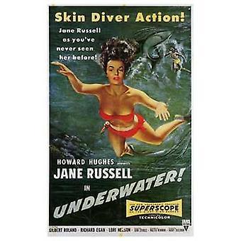 Underwater Movie Poster (11 x 17)