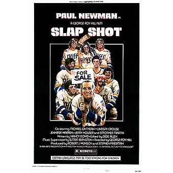 Slap Shot Movie Poster (11 x 17)