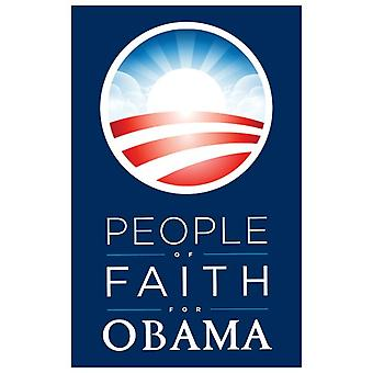 Barack Obama - (People of Faith for Obama) Campaign Poster Movie Poster (11 x 17)