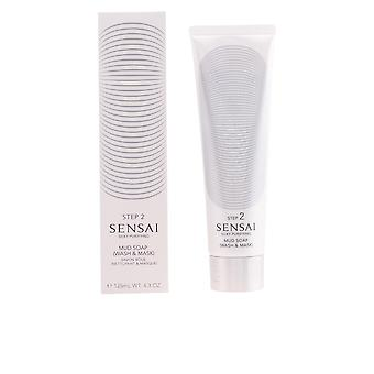 SENSAI SILKY mud soap wash & mask