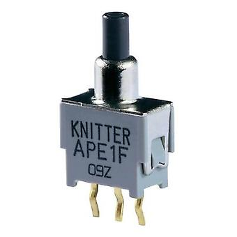 Pushbutton 48 V DC/AC 0.05 A 1 x On/(On) Knitter-Switch