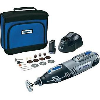 incl. spare battery, incl. accessories, incl. bag 25-piece 10.8 V 2 Ah Dremel 8200-20 F0138200JJ