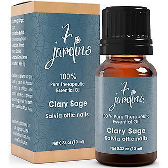 Clary Sage æteriske olie - Salvia Officina - 100% ren-For søvnløshed