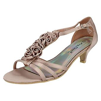 Ladies Anne Michelle Heeled Sandals L3363