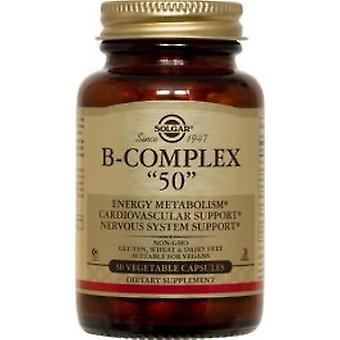 Solgar - Vitamin B Complex 50 High Potency 100VCaps