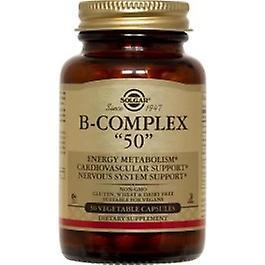 Solgar - Vitamin B Complex 50 High Potency 100VCaps