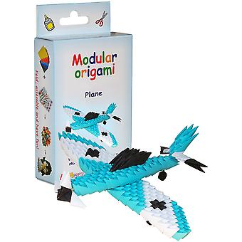 Modular Origami Kit-Blue Plane VE006