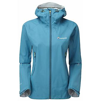 Montane Womens Atomic Jacket Zanskar Blue (Size UK 14)