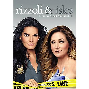 Rizzoli & Isles: Complete zevende & finale Ssn S7 [DVD] USA import