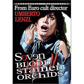 Seven Blood-Stained Orchids [DVD] USA import