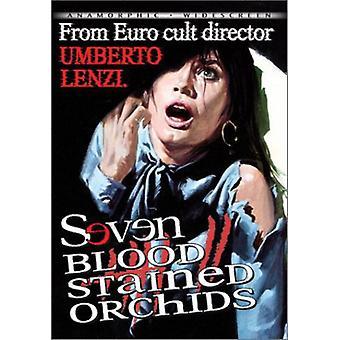 Siete orquídeas de Blood-Stained [DVD] los E.e.u.u. la importación