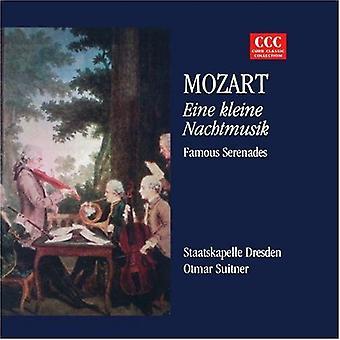 Eine Kleine Nachtmsk - Mozart: Eine Kleine Nachtmusik; Importación de famosas serenatas [CD] Estados Unidos