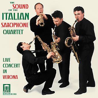 Ljudet av den italienska Saxophone Quartet - The Sound av italienska Saxophone Quartet [CD] USA import