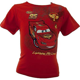 Gutter Disney Carsning McQueen t-skjorte OE1210