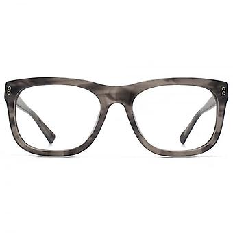 Hook LDN Bridgeman Chunky D-Frame Glasses In Dark Tortoise