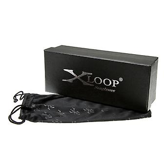 X-Loop Premium Mikrofaser Beutel Sonnenbrille Box