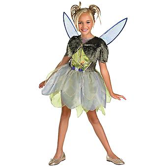 Tinker Bell Deluxe Tinkerbell Fairy Fairies Disney Book Week Girls Costume