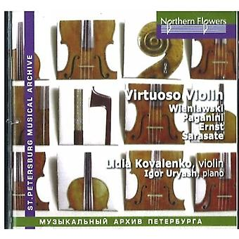 Kovalenko / Uryash - virtuos stykker for Violin af 1800-tallet [CD] USA import