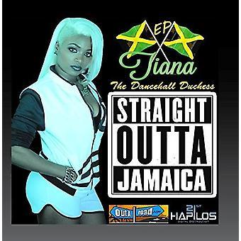 Tiana - importación de USA de Straight Outta Jamaica [CD]