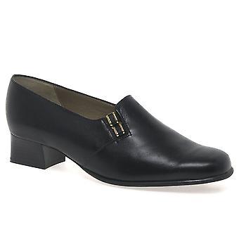 Van Dal Elsa Black Leather Dress Shoe