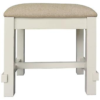 Classic Melton Reclaimed Pine Dressing Table Stool