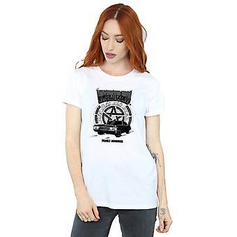 Supernatural Women's Winchester Bros Boyfriend Fit T-Shirt