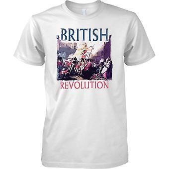 Britse revolutie - militaire geïnspireerd - Mens T Shirt