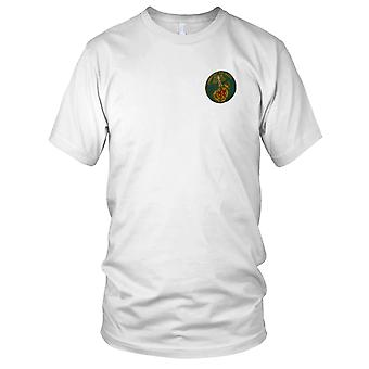 ARVN Marines Danh Du To Quoc - Silk Military Insignia Vietnam War Embroidered Patch - Mens T Shirt